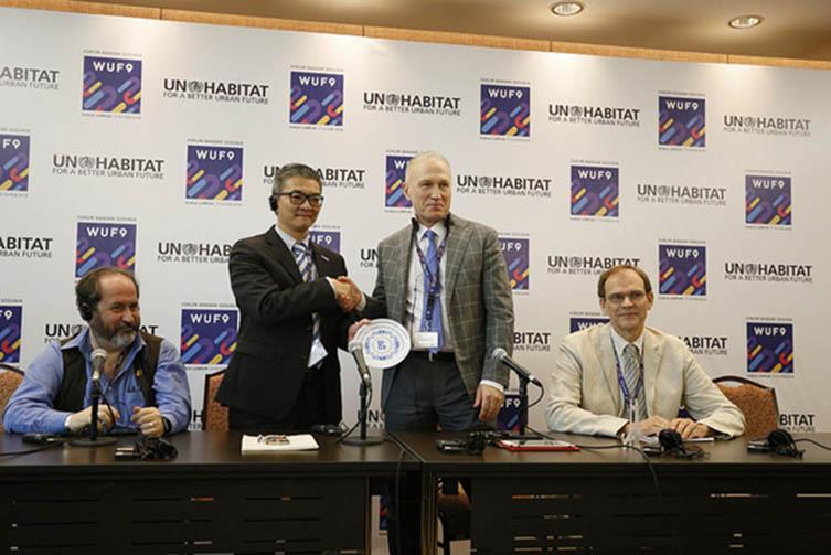 Подписание совместного Меморандума о взаимопонимании с ООН-Хабитат