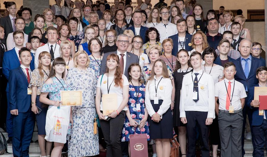 Участники второго Всероссийского конкурса «История местного самоуправления моего края» представили свои работы в Москве.