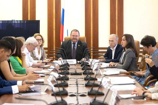 В Совете Федерации состоялось заседание организационного комитета Международного конкурса «Идеи, преображающие города»